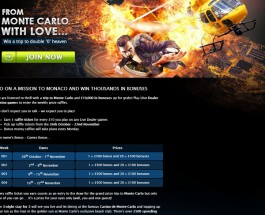 Win a Trip to Monte Carlo at Gala Casino