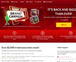 Earn Up to £2,000 in Bonuses at Sky Vegas Each Week