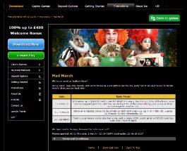 Enjoy Daily Bonuses in Casino.com's Mad March Promo