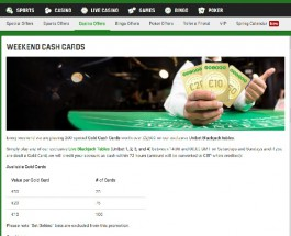 Win a Share of £2,500 at Unibet Casino This Weekend