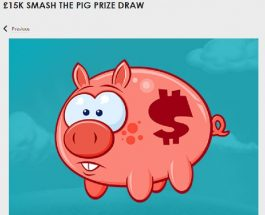 Win One of 1,500 Cash Prizes in Gala Casino's Smash the Pig Promo