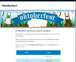Win Prizes on the Final Day of Party Casino Oktoberfest Promo
