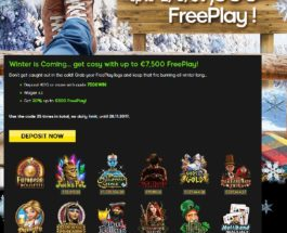 Warm Yourself With £7.5K Free Play at 888 Casino