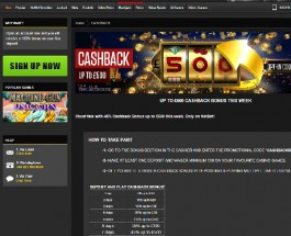 Earn 45% Cash Back up to £500 at NetBet Casino
