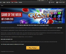 Bet £1 and Win £100 at NetBet Casino This Week