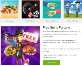 Enjoy a Month of Free Spins at Casino.com