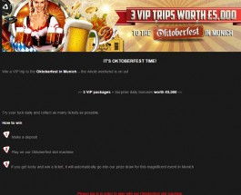 Win a £5,000 Oktoberfest Trip at NetBet Casino