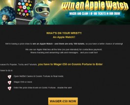 NetBet Casino Launches Special Apple Watch Raffle