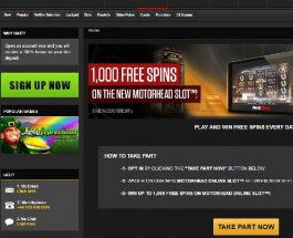 Win Up to 1,000 Free Spins on Motorhead at NetBet