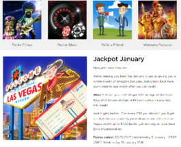 Enjoy Bonuses and Prize Draws with Casino.com's Jackpot January