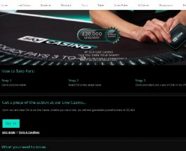 Claim a Share of £20,000 in Sky Casino Live Dealer Giveaway