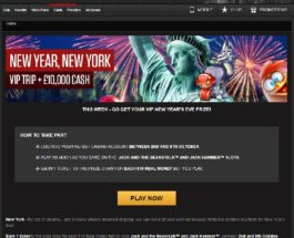 Win a New Year's Eve Trip to New York at NetBet Casino