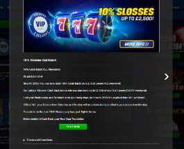 Enjoy 10% Cashback on Slot Losses at Coral Casino