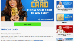 Find the Boss' Card at BGO Casino for a £500 Cash Prize