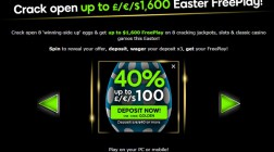 Enjoy Easter Monday Free Play at 888 Casino