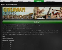 Win a Share of £10K in Casino Luck Nordic Heroes Giveaway