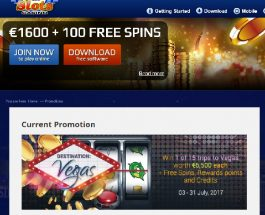 Win a Trip to Vegas at All Slots Casino