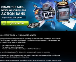 Gala Casino Offers £10 Action Bank Slot Bonuses