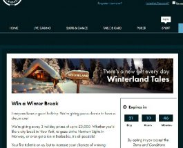 Win a Winter Break at Grosvenor Casino