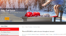 Win a Share of £30K Cash at 32Red Casino This January
