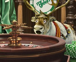 Win £1K Cash in Mr Green's Rudolph's £30K Roulette Race