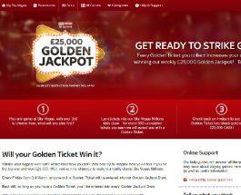Win a £25,000 Cash Jackpot at Sky Vegas