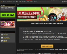 Win Three Olympic Jackpots at NetBet Live Casino