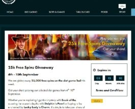 Receive a Share of 25K Free Spins at Grosvenor Casino