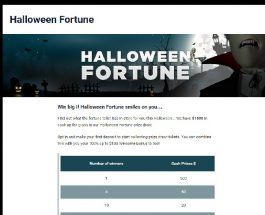 Win a Share of $1K in Party Casino Halloween Promotion