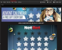 Claim a Daily Free Gift With NetBet Casino's Advent Calendar