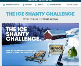 Take Part in InterCasino's Ice Shanty Challenge for Weekly Bonuses