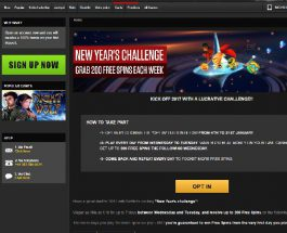 Get 200 Free Spins in NetBet's New Year's Challenge