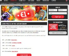 Win Cash Prizes in Redbet Casino's Autumn Prize Draw