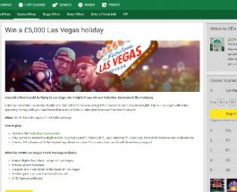 Win a Trip to Las Vegas at Unibet Casino