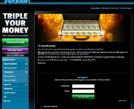 Win £7K Cash at Slots Heaven Casino