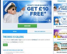 Verify Your Mobile for a £10 Bonus at BGO Casino
