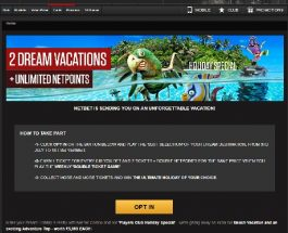 Win a Dream Holiday at NetBet Casino