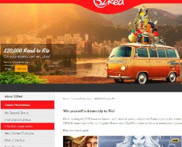 Win a Trip to Rio at 32Red Casino