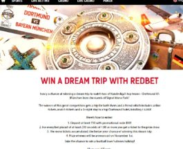 Win a Trip to Dortmund vs Bayern Munich at RedBet Casino