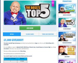 Enter BGO Casino's £5000 Giveaway This Weekend