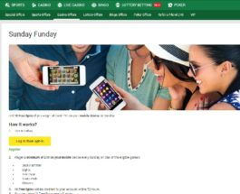 Claim Free Spins in Unibet Casino's Sunday Funday Promo