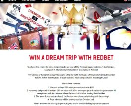 Win a £3K Trip to See Liverpool vs Manchester United at RedBet