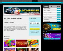 Win a £1K Holiday Voucher at Grosvenor Casino