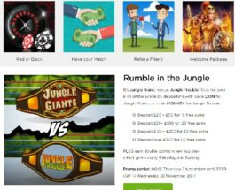Earn Up to 50 Free Spins with Casino.com's Rumble in the Jungle