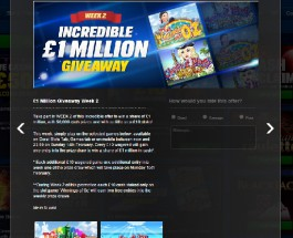 Coral Casino is Giving Away £1 Million