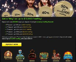 Earn Up To $12,000 Free Play at 888 Casino