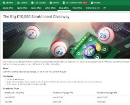 Get Three Free Scratch Cards Daily at Unibet