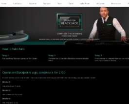 Win £100 Cash in Sky Casino's Operation Blackjack Promotion