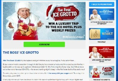 Win a Luxury Holiday in Lapland at BGO Casino