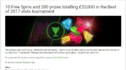 Win a Share of £20K in Unibet Casino's Best of 2017 Tournament